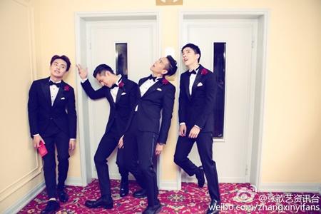 Đám cưới hội tụ dàn mỹ nam mỹ nữ Hoa ngữ của Viên Hoằng - Trương Hâm Nghệ - Ảnh 4