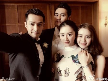 Đám cưới hội tụ dàn mỹ nam mỹ nữ Hoa ngữ của Viên Hoằng - Trương Hâm Nghệ - Ảnh 7