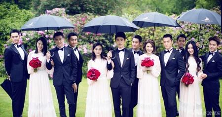 Đám cưới hội tụ dàn mỹ nam mỹ nữ Hoa ngữ của Viên Hoằng - Trương Hâm Nghệ - Ảnh 12