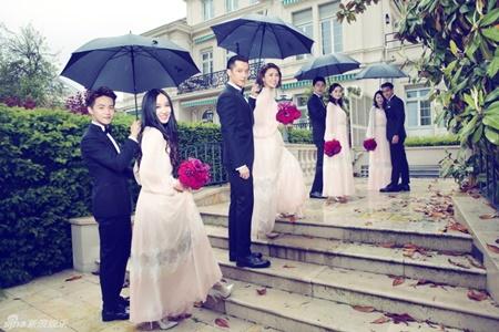 Đám cưới hội tụ dàn mỹ nam mỹ nữ Hoa ngữ của Viên Hoằng - Trương Hâm Nghệ - Ảnh 11