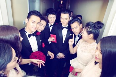 Đám cưới hội tụ dàn mỹ nam mỹ nữ Hoa ngữ của Viên Hoằng - Trương Hâm Nghệ - Ảnh 9