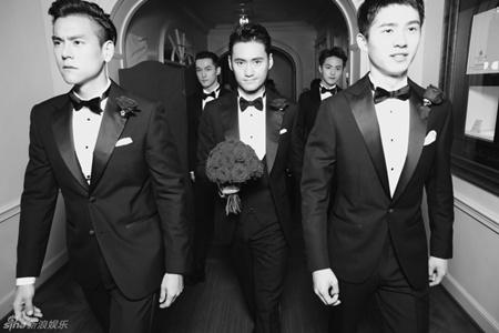 Đám cưới hội tụ dàn mỹ nam mỹ nữ Hoa ngữ của Viên Hoằng - Trương Hâm Nghệ - Ảnh 8