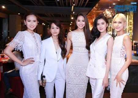 Phạm Hương lần đầu ra mắt thí sinh team The Face 2016 - Ảnh 2