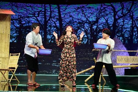 Làng hài mở hội: Thí sinh kêu gọi bảo vệ môi trường bằng hit của Hà Hồ - Ảnh 6
