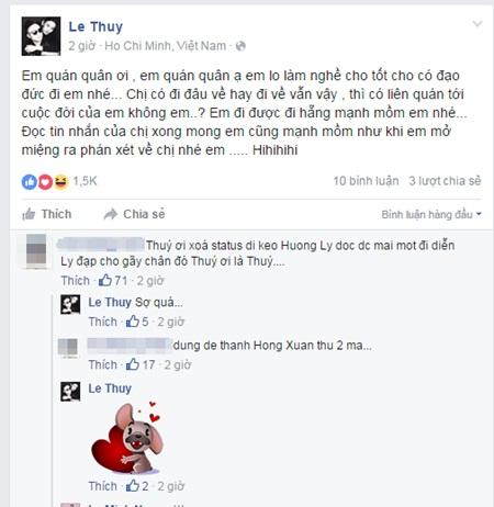 """Những pha """"dằn mặt"""" đàn em gây xôn xao showbiz Việt - Ảnh 3"""
