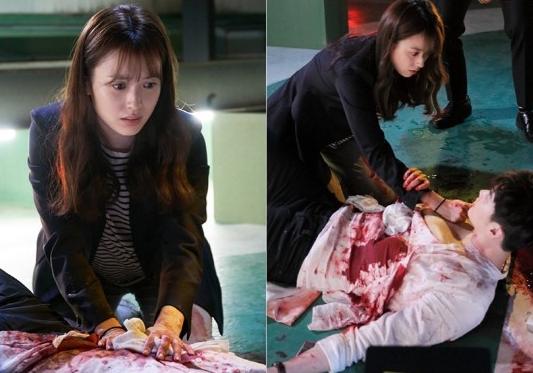 """Hai thế giới: Cuộc gặp đầu tiên """"đẫm máu"""" của Han Hyo Joo và Lee Jong Suk - Ảnh 1"""