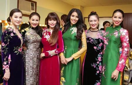 """""""Hội chị em"""" toàn Hoa hậu, Á hậu nổi tiếng của showbiz Việt - Ảnh 8"""