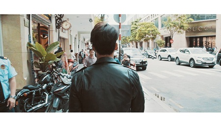 Người đẹp giấu mặt của The Face diễn xuất trong MV của Phan Ngọc Luân - Ảnh 3