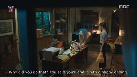 """W - Hai thế giới"" tập 11: Lee Jong Suk sắp bị biến mất - Ảnh 2"