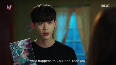"""W - Hai thế giới"" tập 11: Lee Jong Suk sắp bị biến mất - Ảnh 15"