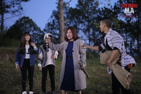 """Lê Khánh hóa """"má mì vi diệu"""" trong """"Phim trường ma"""" - Ảnh 3"""