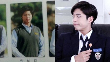 """""""Giật mình"""" với ảnh thời học sinh của loạt mỹ nam xứ Hàn - Ảnh 1"""