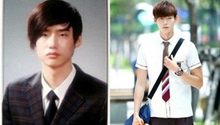 """""""Giật mình"""" với ảnh thời học sinh của loạt mỹ nam xứ Hàn - Ảnh 2"""