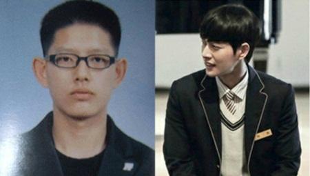 """""""Giật mình"""" với ảnh thời học sinh của loạt mỹ nam xứ Hàn - Ảnh 12"""