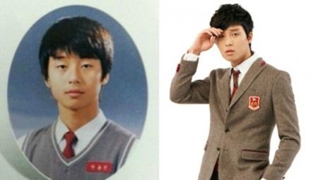 """""""Giật mình"""" với ảnh thời học sinh của loạt mỹ nam xứ Hàn - Ảnh 13"""