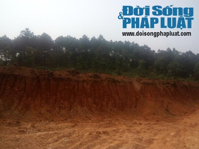 Phớt lờ chỉ đạo của huyện, xã để khai thác đất tràn lan - Ảnh 3