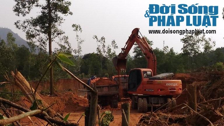 Phớt lờ chỉ đạo của huyện, xã để khai thác đất tràn lan - Ảnh 1