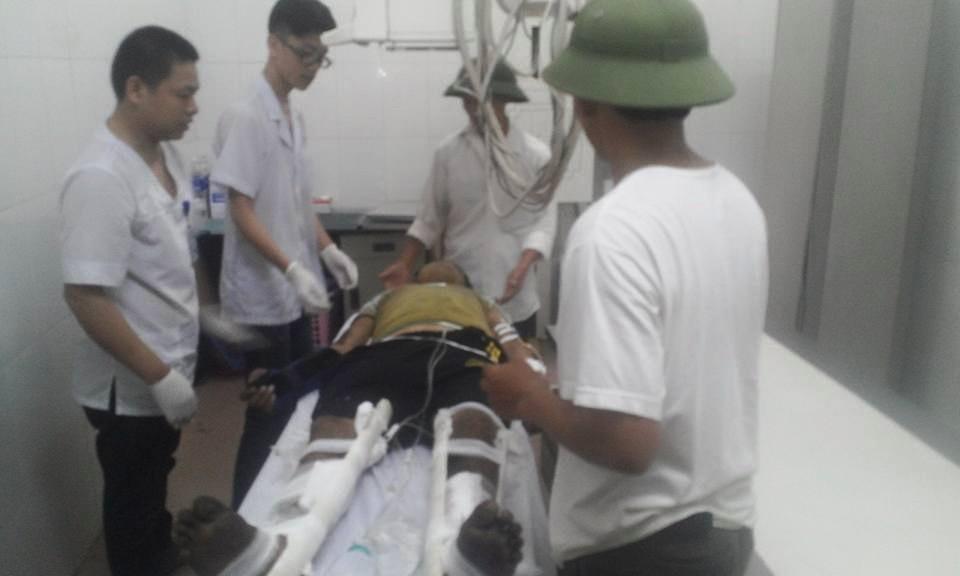 Đã có 2 nạn nhân được đưa về Việt Nam cấp cứu sau vụ nổ xe ở Lào - Ảnh 1