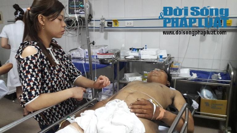 Nhân chứng kể lại giây phút  xe khách nổ làm 8 người chết ở Lào - Ảnh 1