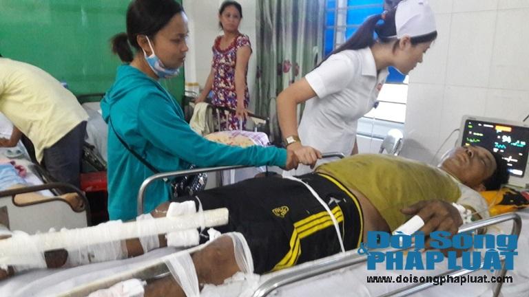Nhân chứng kể lại giây phút  xe khách nổ làm 8 người chết ở Lào - Ảnh 3