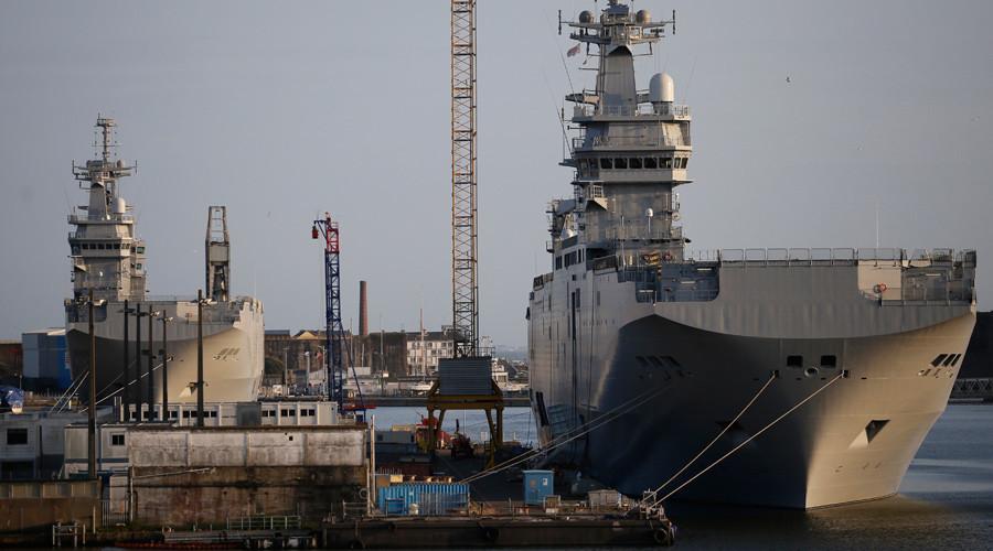 Pháp lỗ 250 triệu euro trong vụ bán tàu sân bay Mistral - Ảnh 1