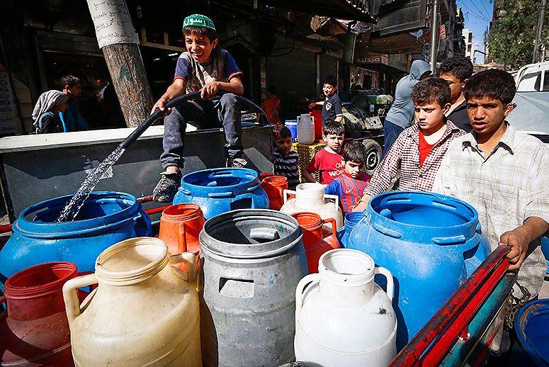 Điện thoại thông minh là chìa khoá giúp tìm ra nguồn nước ở Syria - Ảnh 1