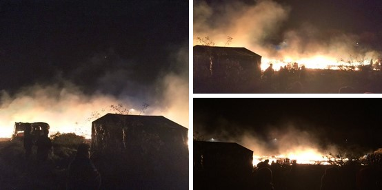 Cháy lớn tại trại tị nạn Pháp sau vài giờ xảy ra vụ khủng bố Paris - Ảnh 1