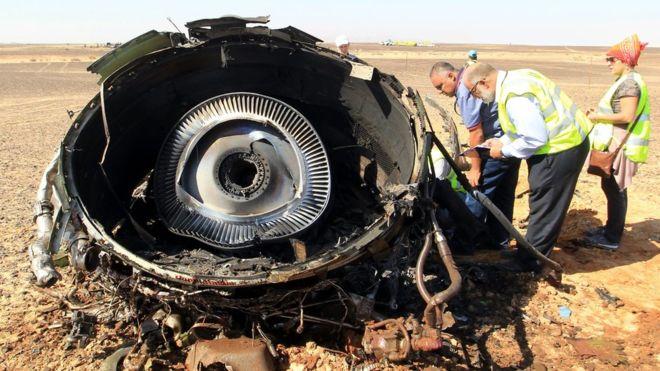 Nga chính thức thừa nhận máy bay rơi ở Ai Cập do khủng bố - Ảnh 1
