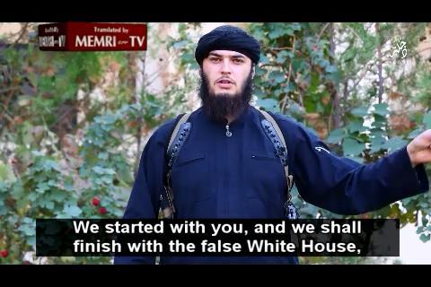 IS tung video đe dọa tấn công Nhà Trắng - Ảnh 1