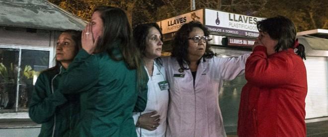 Động đất ở Chile gây sóng thần cao gần 4m - Ảnh 7