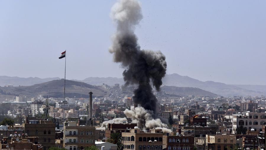 Không kích trúng đám cưới ở Yemen, 135 người thiệt mạng - Ảnh 1