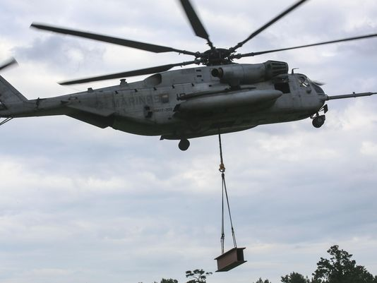 Trực thăng gặp sự cố khi hạ cánh, 12 binh sỹ thương vong  - Ảnh 1
