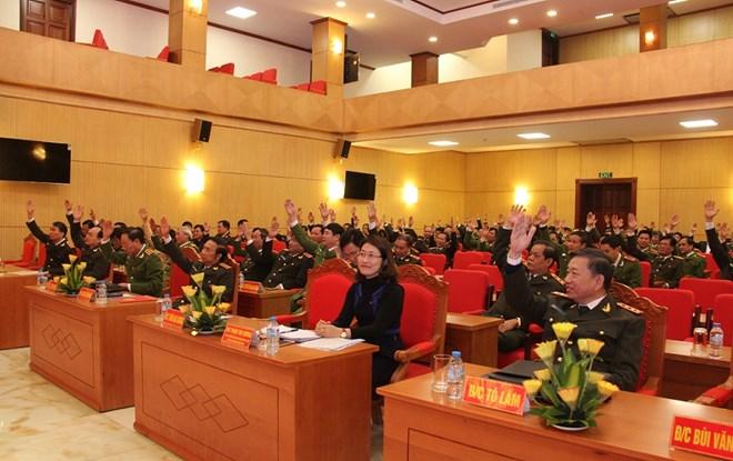Bộ Công an giới thiệu 4 ứng cử đại biểu Quốc hội khóa XIV - Ảnh 1