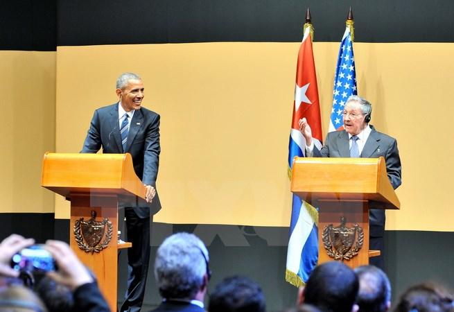 Tổng thống Mỹ Obama kết thúc chuyến thăm chính thức tới Cuba - Ảnh 1