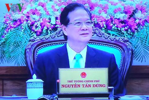 Thủ tướng Nguyễn Tấn Dũng phát biểu chia tay Chính phủ - Ảnh 1