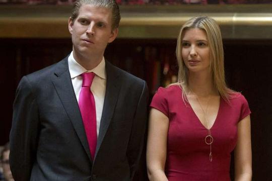 Bầu cử Tổng thống Mỹ: Các con tỉ phú Trump không bỏ phiếu cho cha - Ảnh 1