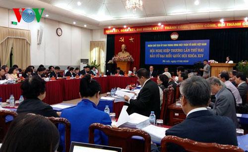 Hôm nay, Hội nghị hiệp thương lần 3 lập danh sách người ứng cử ĐBQH - Ảnh 1
