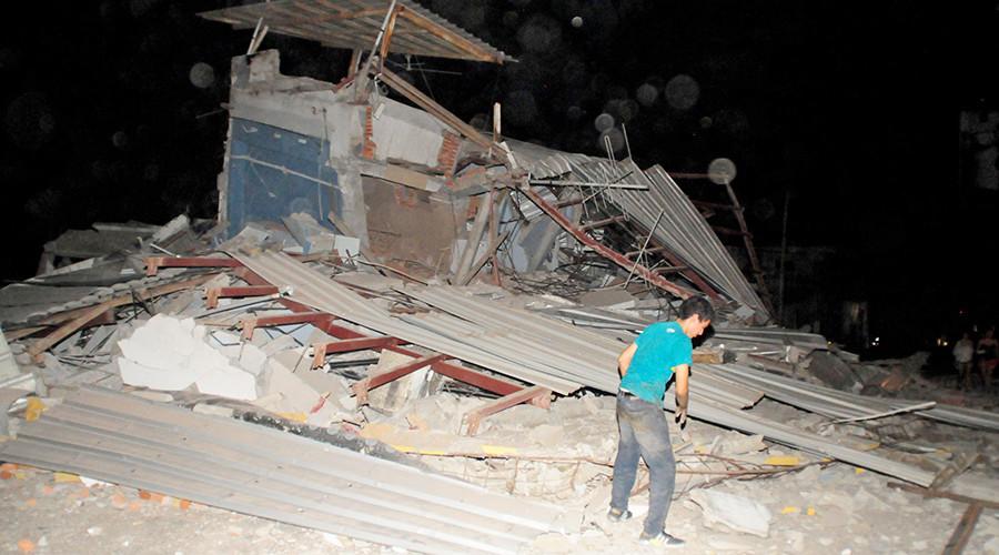 Động đất rung chuyển Ecuador, 77 người thiệt mạng - Ảnh 1