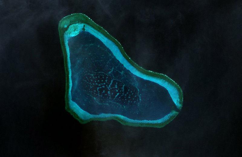 Mỹ lo xung đột khi Trung Quốc bồi đắp bãi Scarborough  - Ảnh 1