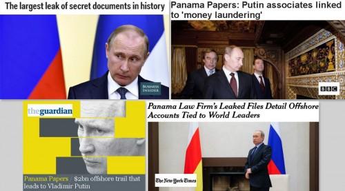"""Công chúng chỉ trích phương Tây đăng ảnh ông Putin liên quan tới """"Hồ sơ Panama"""" - Ảnh 1"""