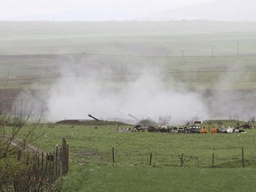Azerbaijan đe dọa tấn công tên lửa vào thủ phủ Nagorno Karabakh - Ảnh 1