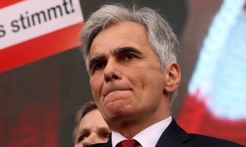 Thủ tướng Áo Werner Faymann tuyên bố từ chức - Ảnh 1