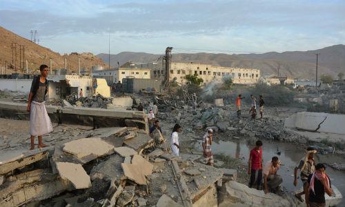 IS đánh bom liều chết ở Yemen, 25 cảnh sát thiệt mạng - Ảnh 1