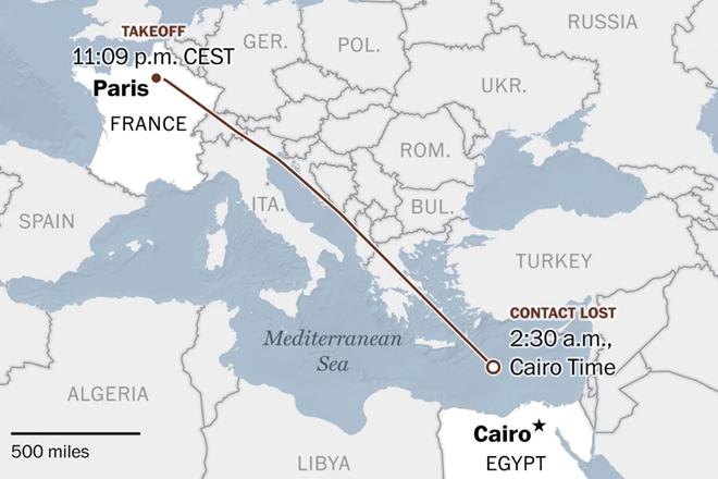 IS thừa nhận tấn công máy bay Ai Cập MS804 - Ảnh 1