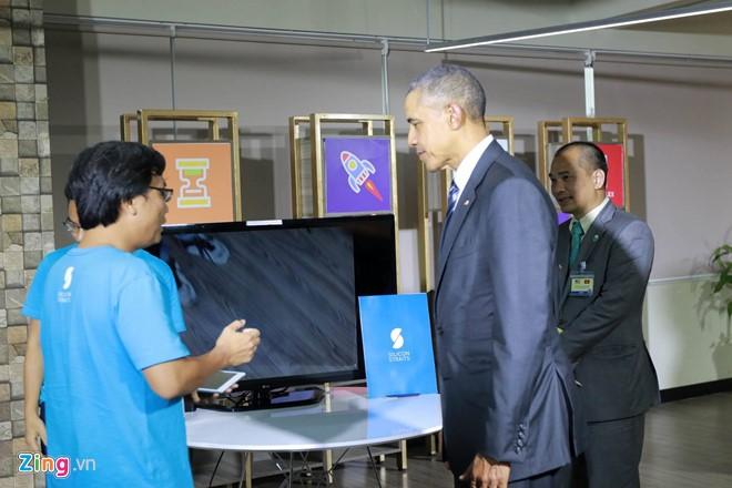 Tổng thống Obama đối thoại với hơn 100 doanh nghiệp Việt tại TP.HCM - Ảnh 9