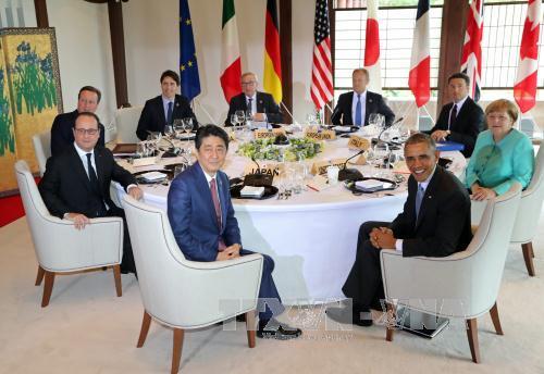 G7 muốn giải quyết xung đột ở Biển Đông trong hòa bình - Ảnh 2