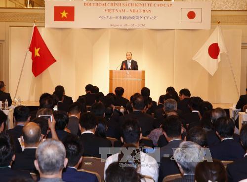 Phát biểu của Thủ tướng tại Đối thoại Chính sách kinh tế Việt - Nhật  - Ảnh 1