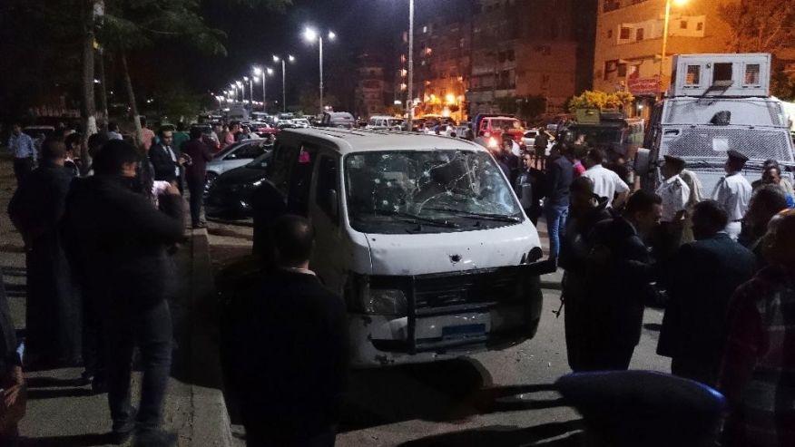 Ai Cập: IS bắn chết 8 cảnh sát ở thủ đô Cairo - Ảnh 1