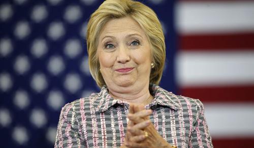 Hillary Clinton hội đủ phiếu để trở thành ứng cử viên Tổng thống Mỹ - Ảnh 1
