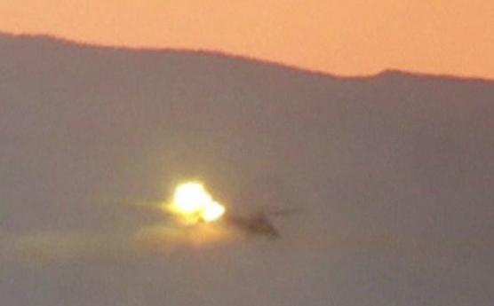 IS bắn rơi trực thăng Nga, phi công thiệt mạng - Ảnh 1